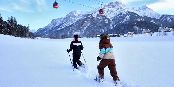 Winterwanderung Waidring Gondelbahn