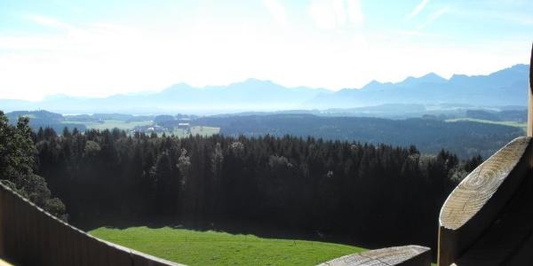 Ausblick Ratzinger Höhe