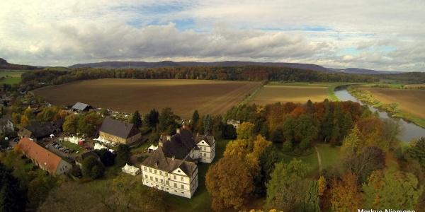 Weserhöhen Schloss Wehrden