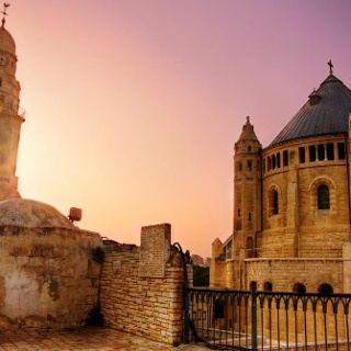 Die Domitio Abtei in Jerusalem