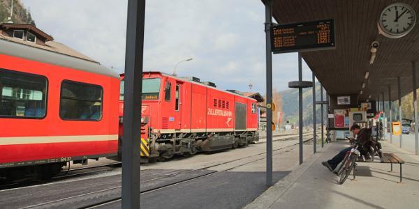 Bahnhof Mayrhofen und die Zillertalbahn