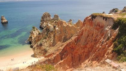 Steilküste an der Algarve