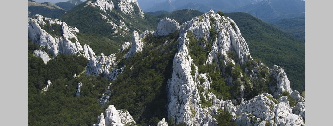 Vidik s Kize prema Ljubičkom brdu