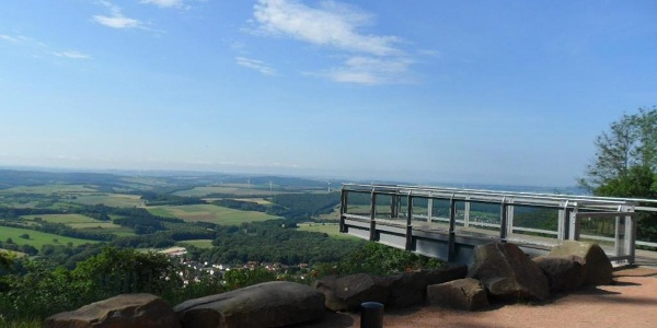 Skywalk am Schaumberturm