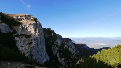 Blick vom Gipfel auf den Mendelkamm
