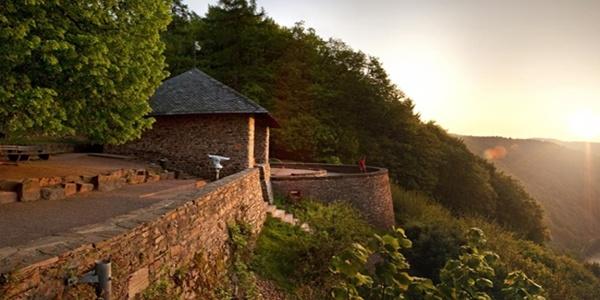 Hütte Aussichtspunkt Cloef