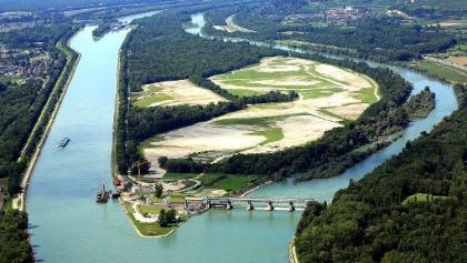 Stauwehr Weil am Rhein