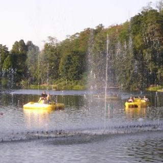 Wasserorgel im Deutsch-Französiche-Garten