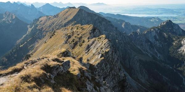 Bergtour - Große Klammspitze - Grat zum Feigenkopf