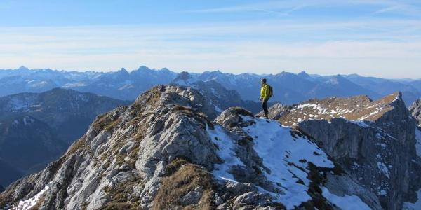 Bergtour - Hochplatte - Blick auf Lechtaler Alpen
