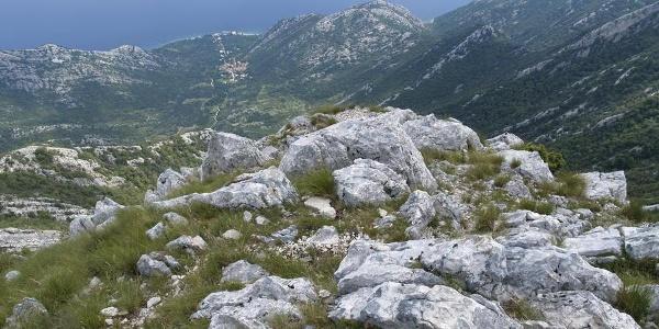 Vidik prema Kuni s vrha Svetog Ilije