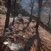 Abstieg nach Biacesa