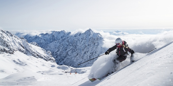 Panoramablick auf der Zugspitze