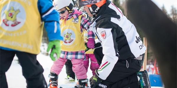 Scuola sci per bambini Obereggen