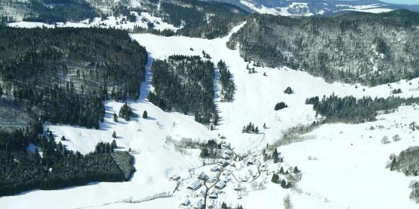 Das Skigebiet Hofeck