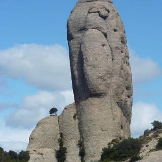 Imposante Sandsteingebilde