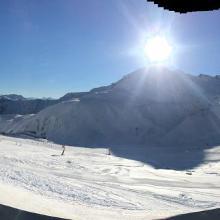 Blick von der Masnerhütte