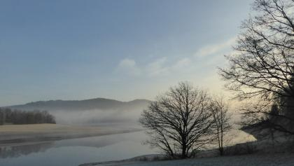 Sonnenaufgang am Eixendorfer Stausee
