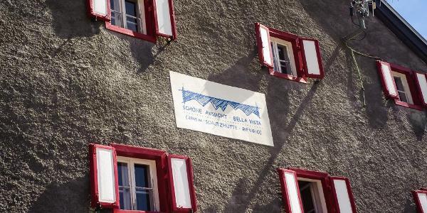 """Hütte """"Zur Schönen Aussicht"""" / """"Bella Vista"""" (2.845m)"""