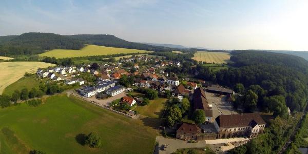 Blankenau rechts Hegge links Bierenberg mitte Wildberg