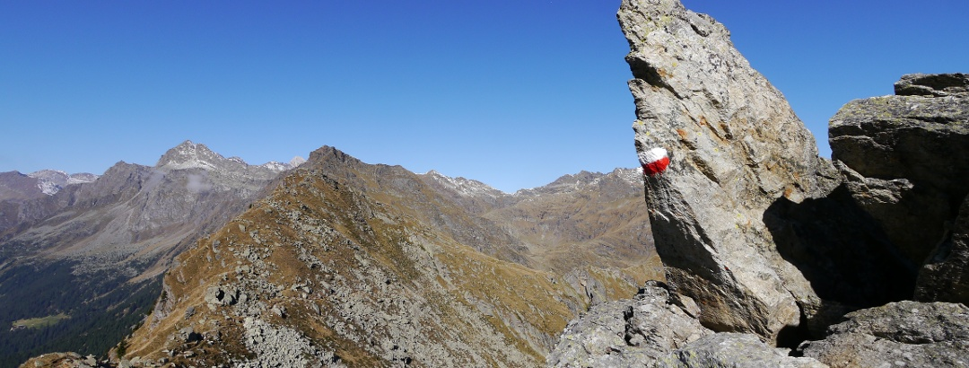 Felsnadel nahe der Mutspitze