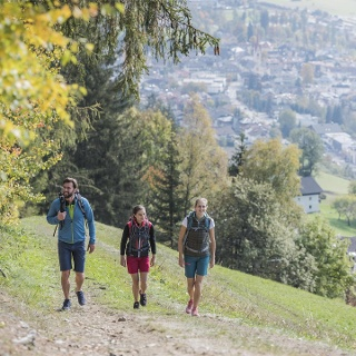 Dolomites panorama trail