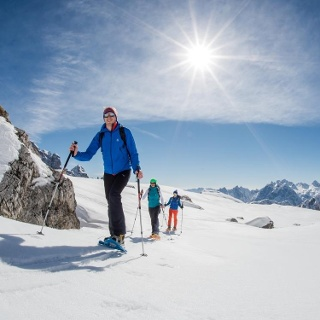 snowshoe hiking San Candido Innichen