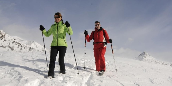 winter hiking San Candido Innichen