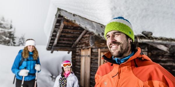 Ladurns winter hiking