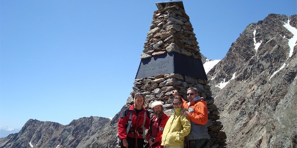 Iceman's discovery site in Val Senales