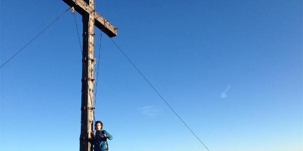 Croce di vetta Monte Luco grande