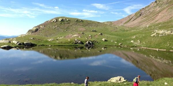 Monte Luco mountain lake