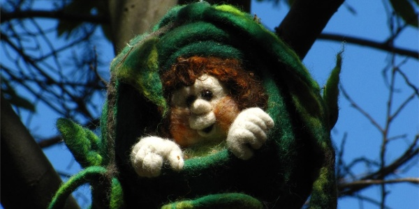 Nest of Magic - International Path of Artworks in Felt in Tesimo