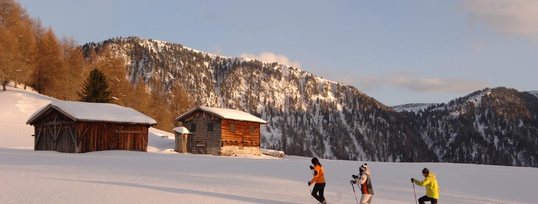 Winterwanderungen in Südtirols Süden