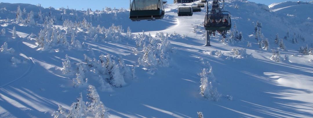 Skifahren im Skigebiet Hochkar