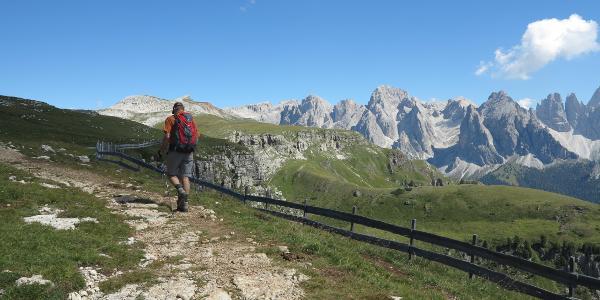 Via Alpina Richtung Schlernhaus
