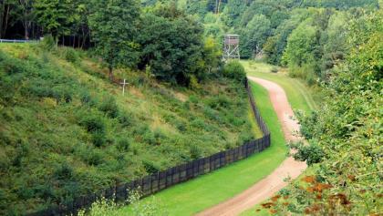 Original Grenzzaun Abschnitt