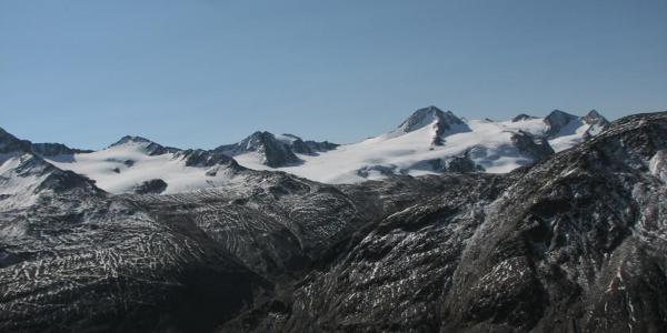 Blick von Similaunhütte
