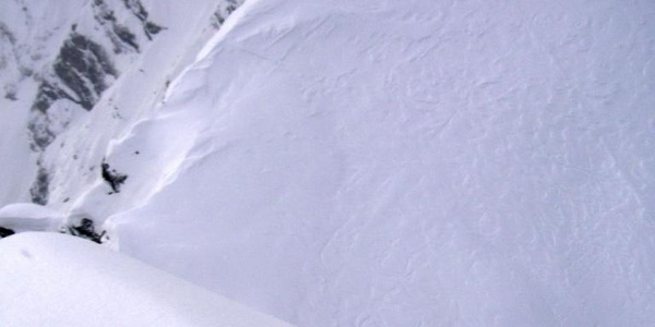 Tiefblick in die Skischarte vom 5. Kind