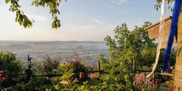 Märchenhafte Aussicht über die Stadt Hartberg © TV Hartbergerland, zVg