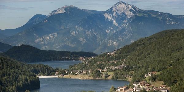 Vista dei laghi di Serraia e Piazze