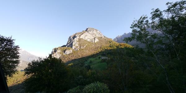 Blick auf den Pizzo d'Erna