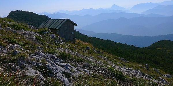 Panoramablick von der Benediktenwand