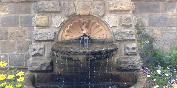 Schleifenroute - Wasserspiele  Ausschnitt Gotha