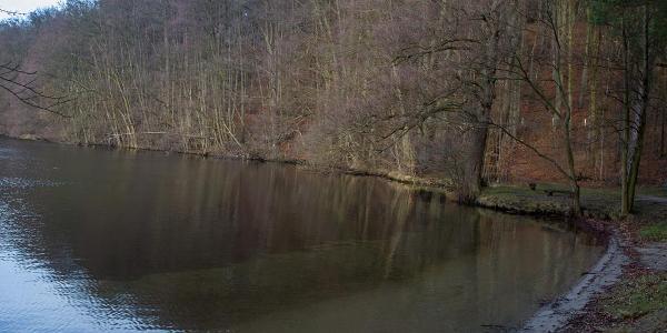 Badestelle am Kalksee