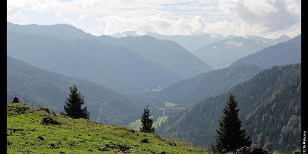 Ursprungtal von der Neuhütte am Seeberg