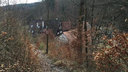 Kochenmühle mit Blick von oben