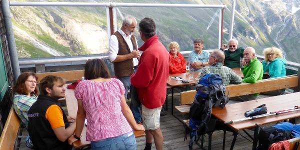 Kasseler Gruppe auf der Terrasse - Gruppo di Kassel sulla terrazza
