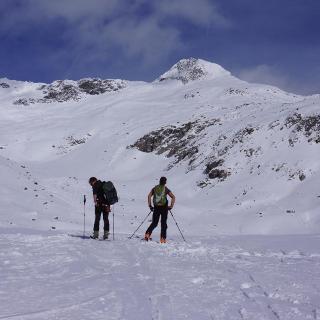 den Gipfel im Visier