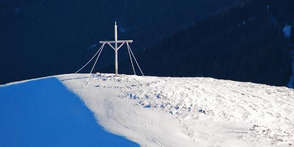 """Das """"Gipfelkreuz"""" am Gruber Hirnkogel"""